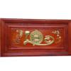 Đồng hồ tranh gỗ treo tường chữ Lộc 1,27m