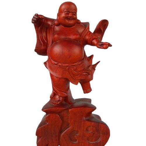 Tượng Phật Di Lặc cầm ngọc