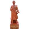 Tượng gỗ Trần Hưng Đạo cao 40cm