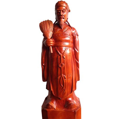 Tượng gỗ Gia Cát Lượng giá rẻ