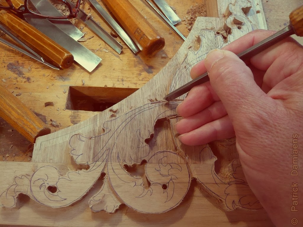 đục tranh gỗ phúc lộc thọ