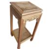 Đôn gỗ kê tượng mặt vuông 80cm