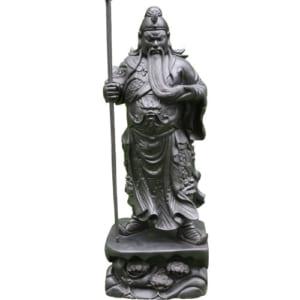 Tượng gỗ Quan Công gỗ mun