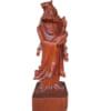 Tượng tổ Đạt Ma cầm 1 chiếc giầy gỗ hương