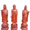 Tượng Tây Phương Tam Thánh gỗ hương