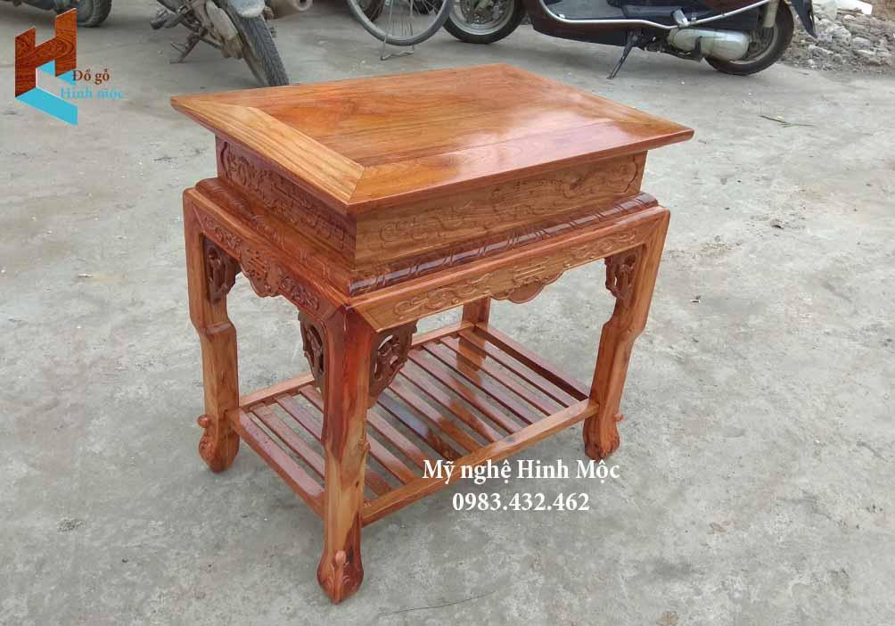 Ghế gỗ kê loa