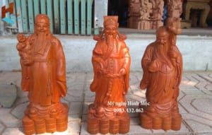 Cách đặt tượng Phúc Lộc Thọ