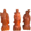 Tượng gỗ Phúc Lộc Thọ để bàn