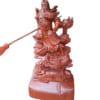 Tượng gỗ Quan Công cưỡi rồng 60cm giá rẻ