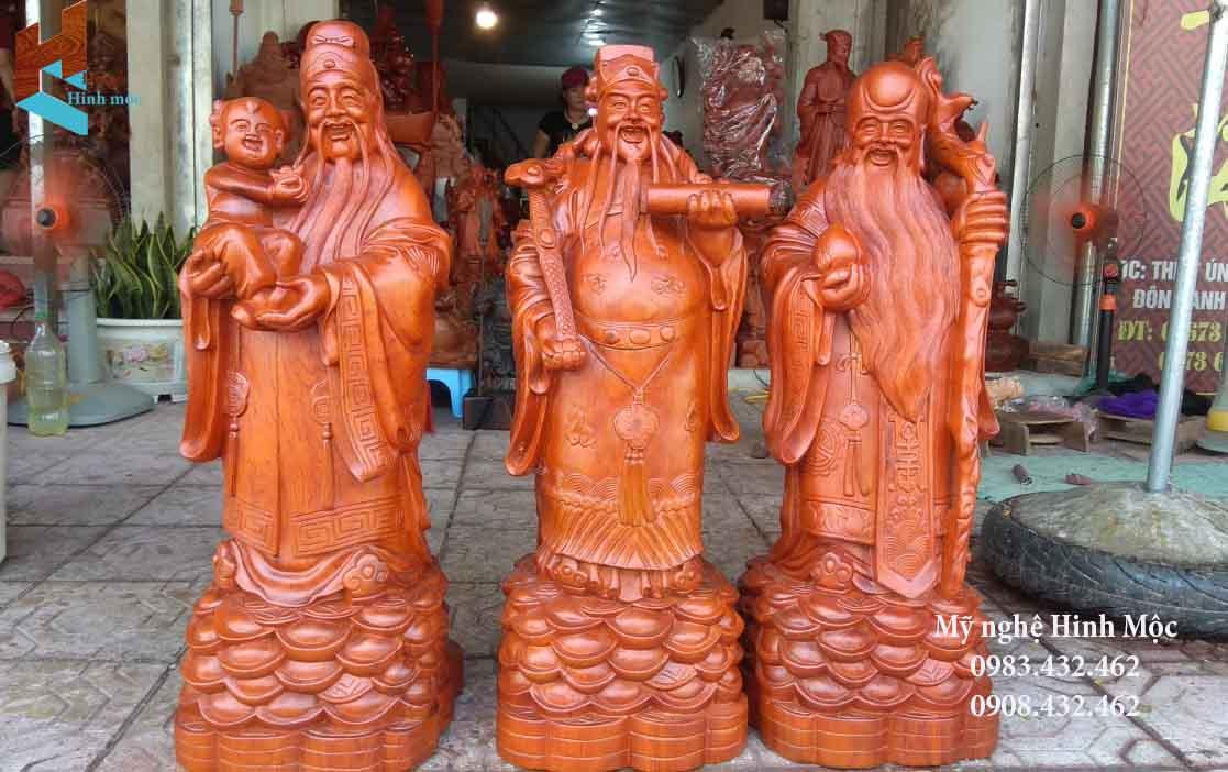 Tượng gỗ Tam Đa cao cấp