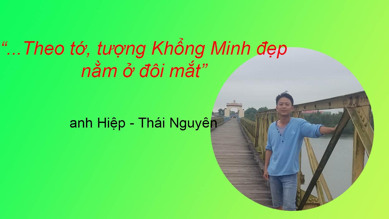 đánh giá tượng Khổng Minh