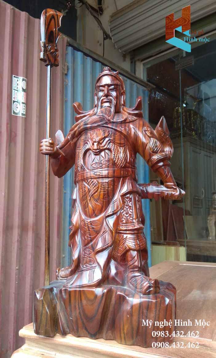 Tượng gỗ Quan Vân Trường