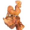 Ổ gà hạnh phúc gỗ hương