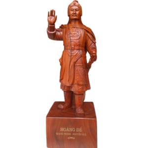 tượng gỗ Quang Trung