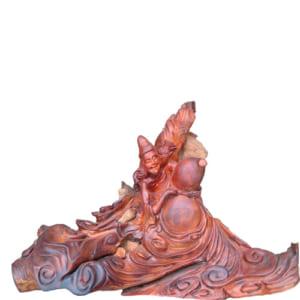 Tượng gỗ Tế Công hòa thượng