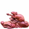 Tượng con chuột bằng gỗ