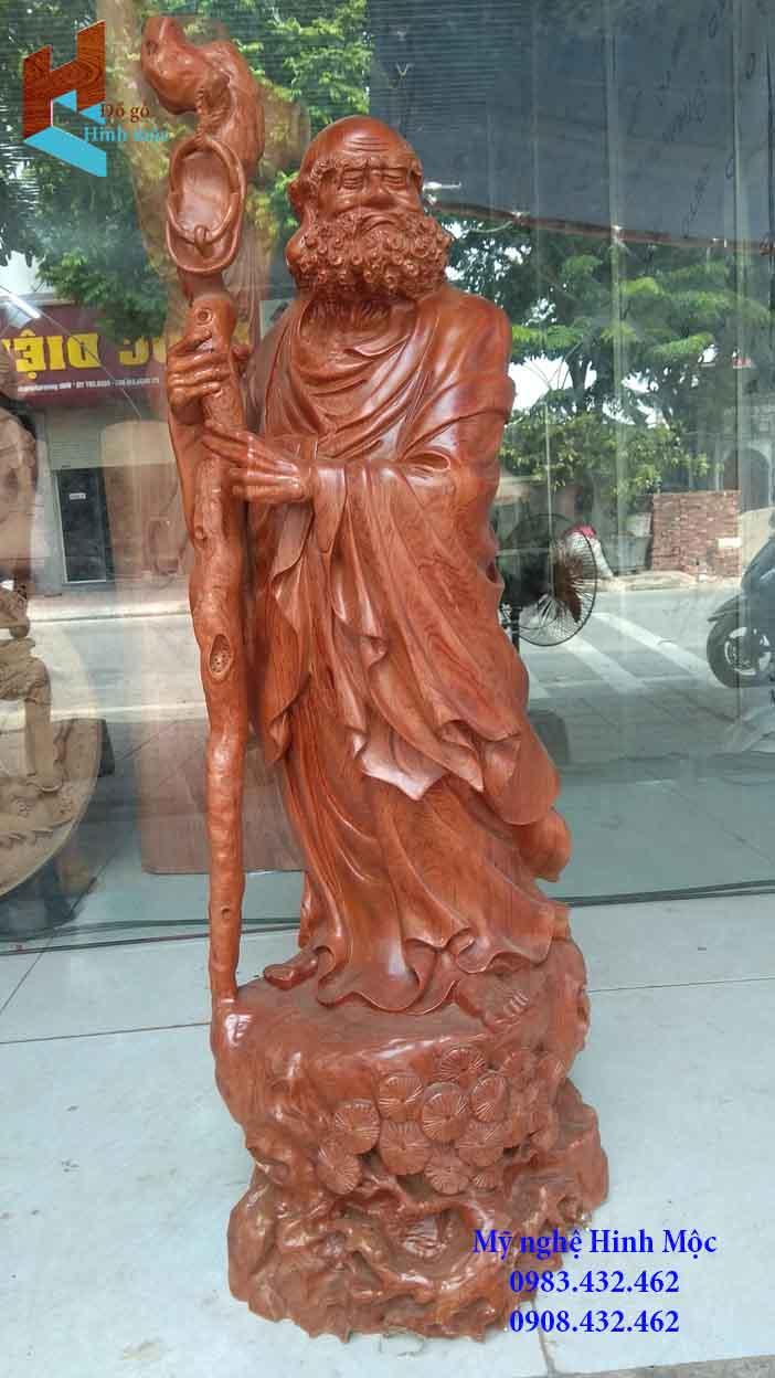 Tượng gỗ Đạt Ma cố hương