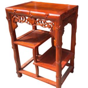 Kệ đôn trúc gỗ hương