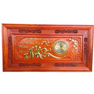 Đồng hồ chữ Nhẫn gỗ hương