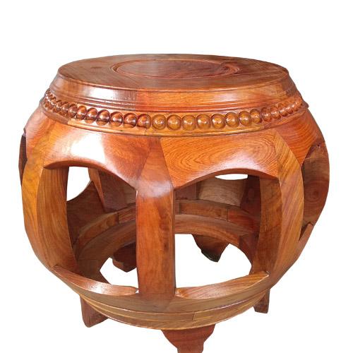 đôn trống gỗ hương