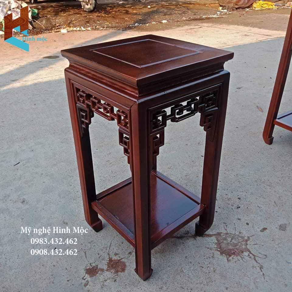 Kỷ ghế gỗ gụ 50cm