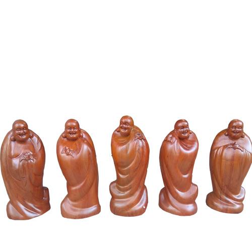 Bộ tượng 5 ông Di Lặc ngũ phúc