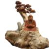 Tượng Bồ Đề Đạt Ma tọa thiền gốc tùng
