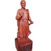 Tượng Trần Quốc Tuấn 50cm gỗ hương