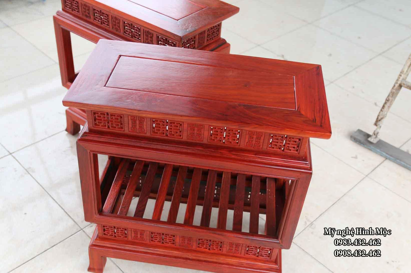 Ghế đôn gỗ đẹp