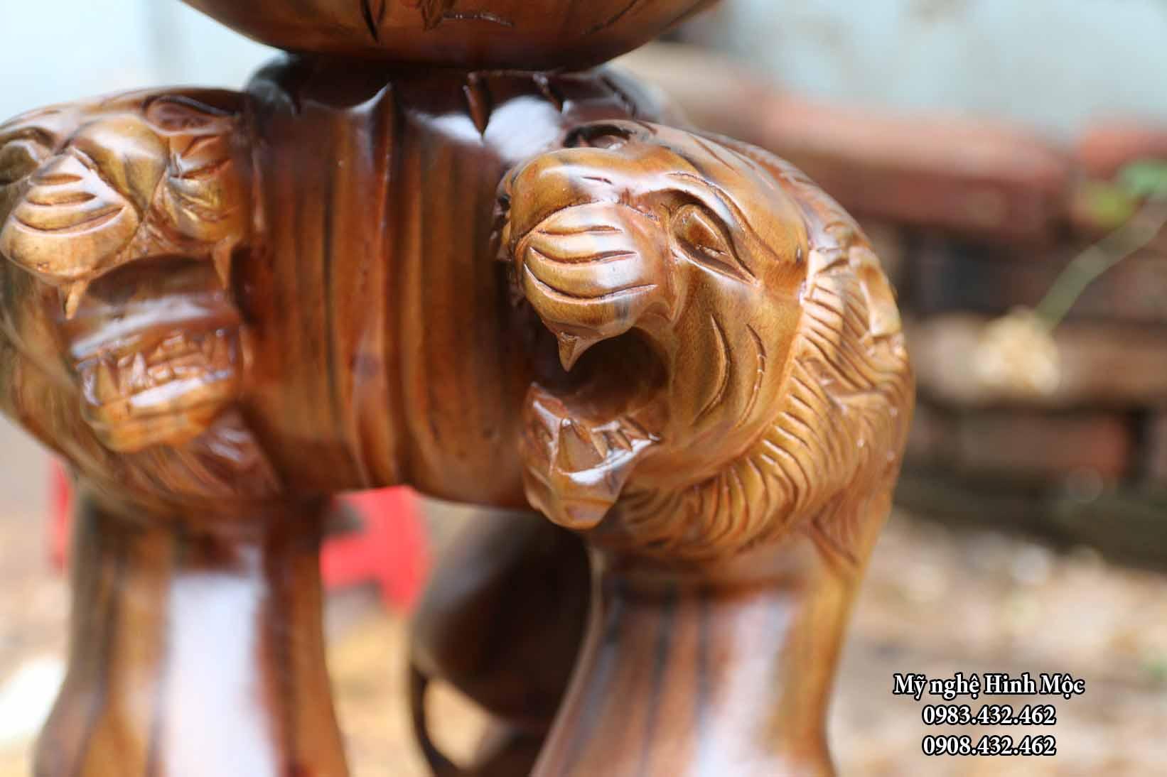 Tượng gỗ đại bàng đẹp giá rẻ