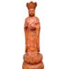 Tượng Bồ Tát địa tạng gỗ hương