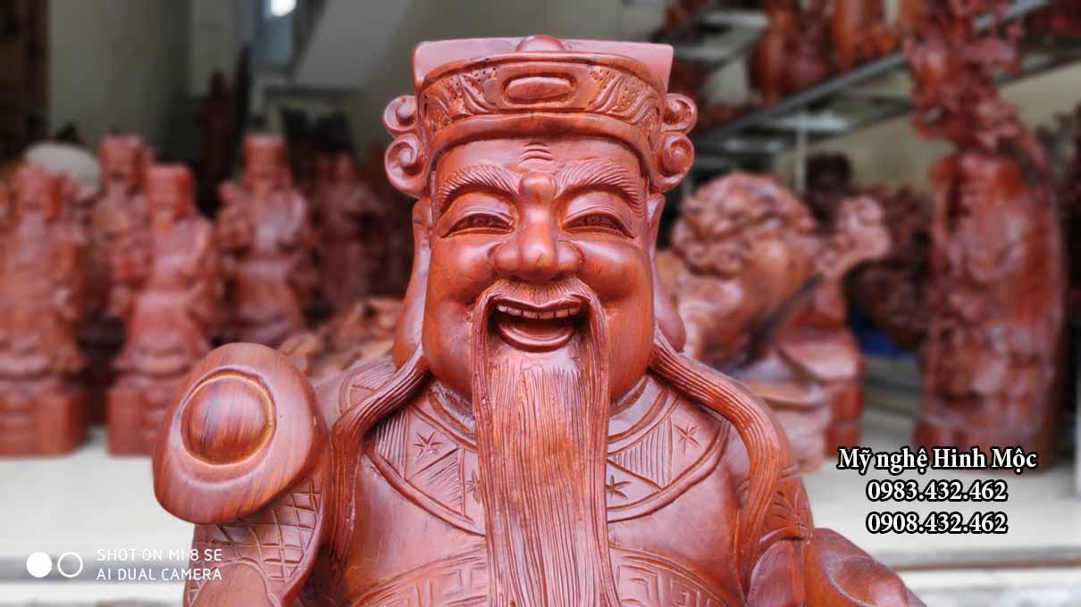 Bộ tượng gỗ Tam Đa Phúc Lộc Thọ