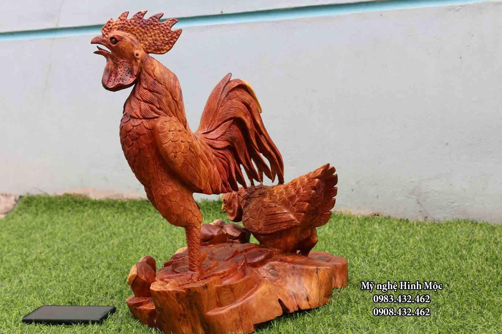 Ổ gà bằng gỗ hương