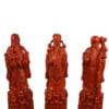 Tượng gỗ Phúc Lộc Thọ 50cm giá rẻ