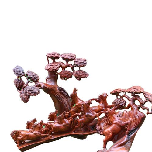 Cầu ngựa cây tùng gỗ hương