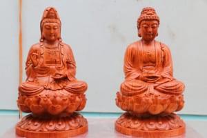 Tượng Phật ông Phật Bà