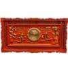 Đồng hồ gỗ treo tường chữ cha mẹ