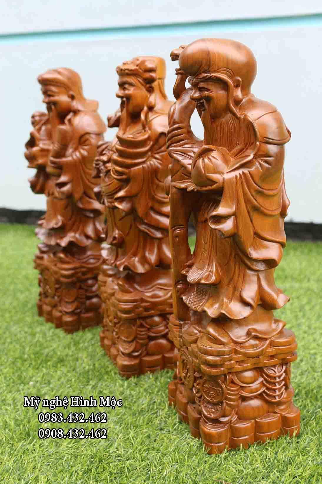 Bộ tượng Tam Đa Phúc Lộc Thọ