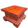 Kỉ gỗ kê chân tượng mặt vuông