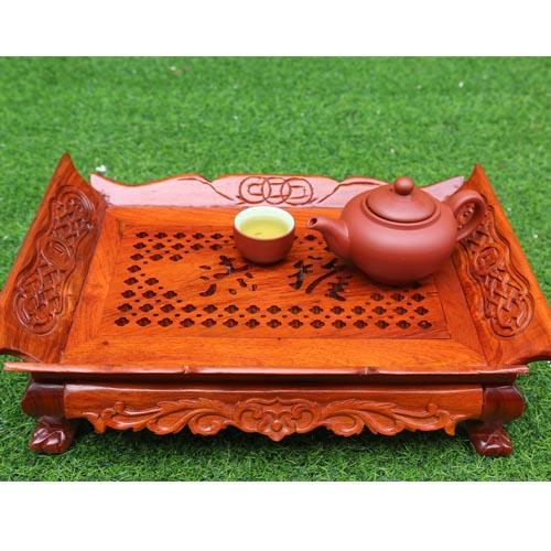 Khay trà Tầu gỗ hương giá rẻ