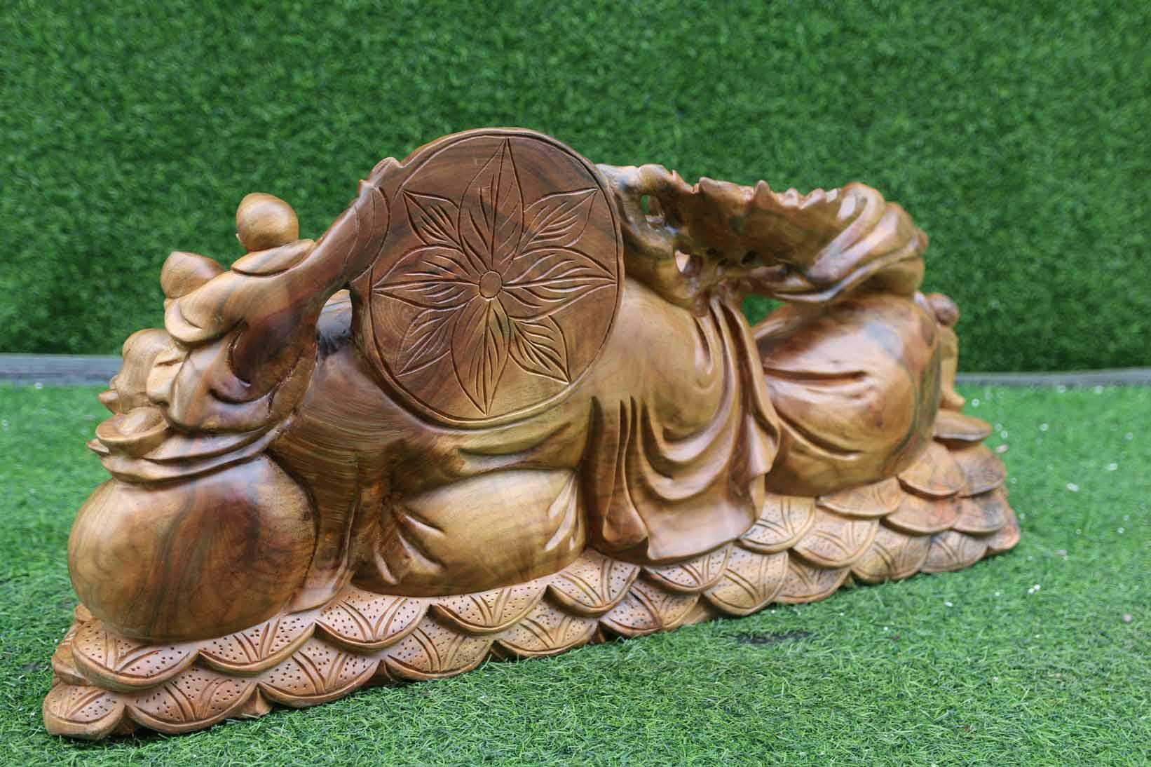 Tượng gỗ Phỗng kéo bao