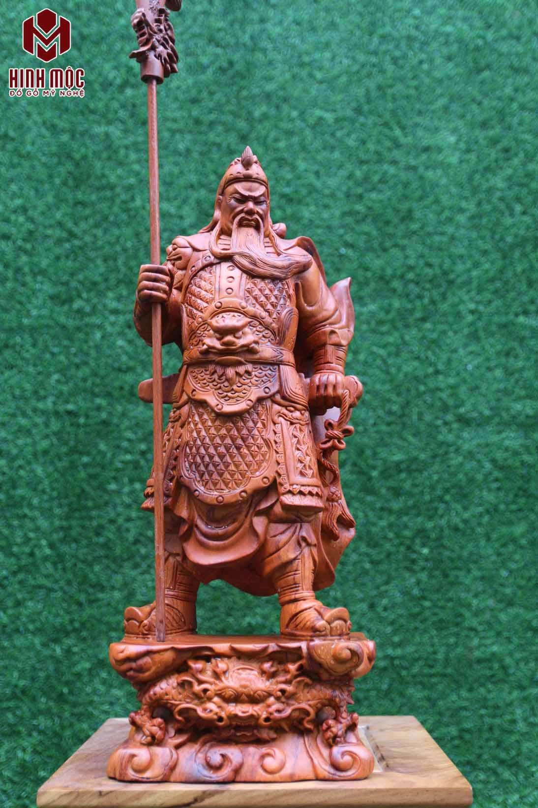 quan công cao 50cm gỗ hương